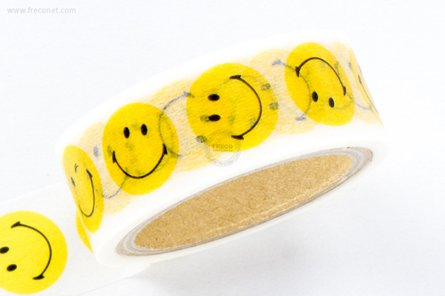 SMILEYマスキングテープ(TS-30)【クロネコDM便OK】