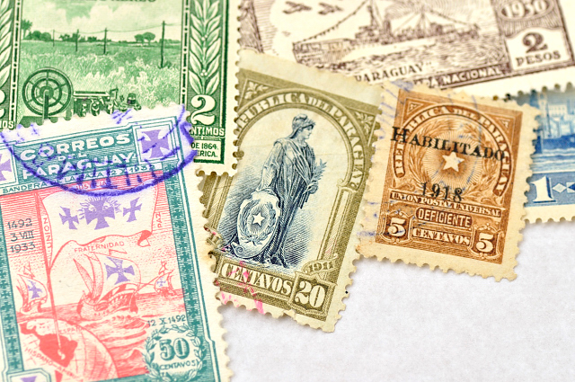 世界の古切手(25枚入り)【ネコポスOK】