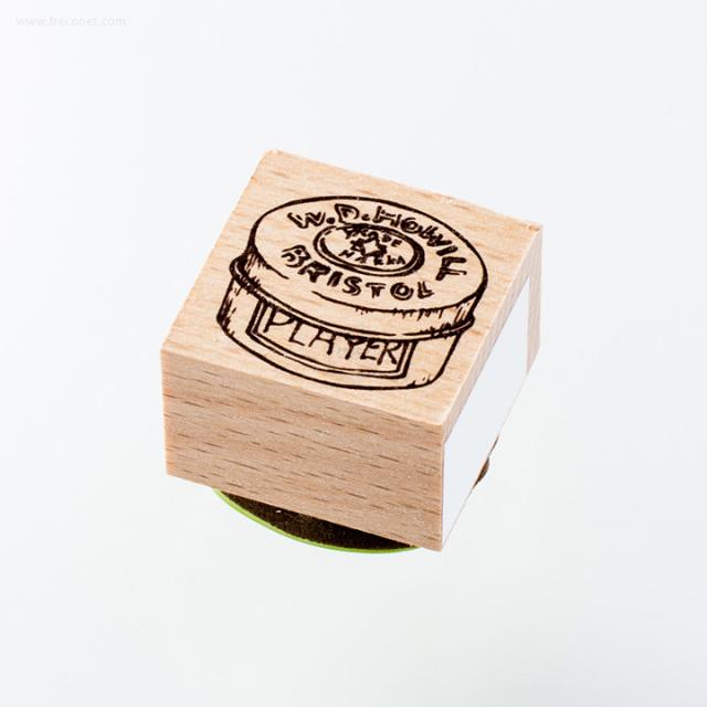 ウッドスタンプ アンティークシリーズ アンティーク缶(WS-A-02)【ネコポスOK】