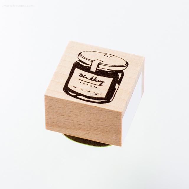 ウッドスタンプ アンティークシリーズ ジャム瓶(WS-A-06)【ネコポスOK】