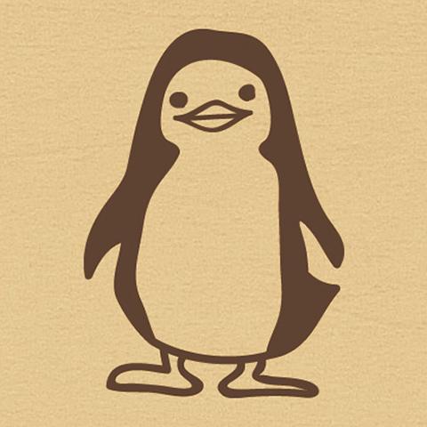 ウッドスタンプ アニマルシリーズ ペンギン(WS-A-13)【宅急便配送】