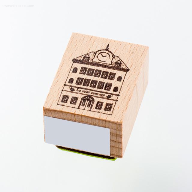 ウッドスタンプ アンティークシリーズ ハウス(WS-B-09)【ネコポスOK】