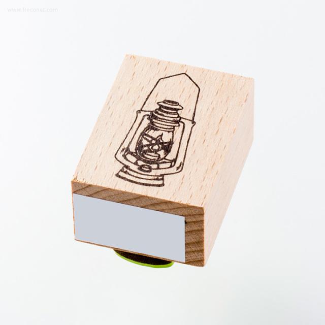 ウッドスタンプ アンティークシリーズ ランプ(WS-B-15)【ネコポスOK】
