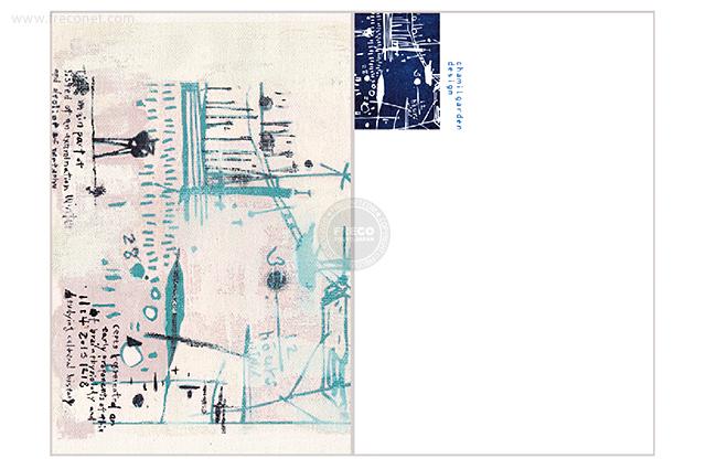 夏米花園ポストカード river bank(XM-PC-012)【ネコポスOK】