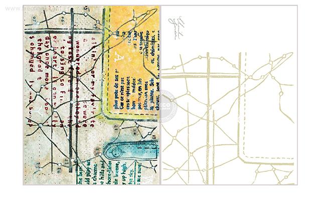 夏米花園ポストカード route(XM-PC-017)【ネコポスOK】