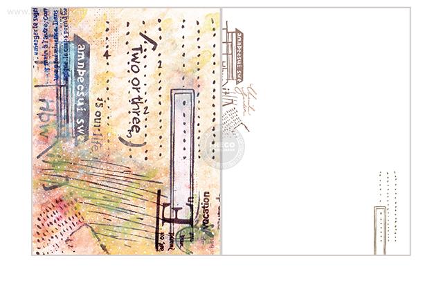 夏米花園ポストカード return(XM-PC-021)【ネコポスOK】