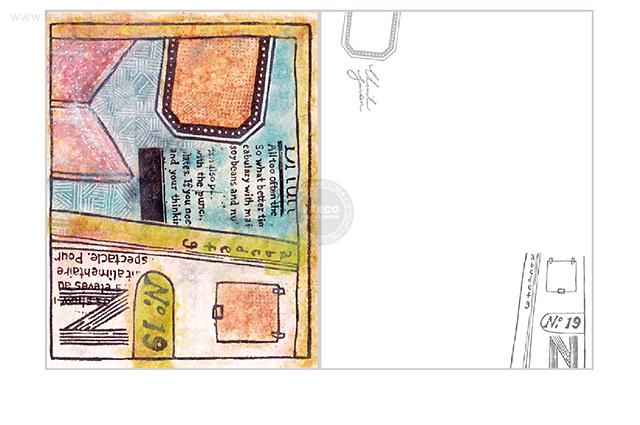 夏米花園ポストカード key point(XM-PC-022)【メール便OK】