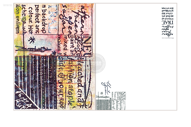 夏米花園ポストカード city(XM-PC-023)【ネコポスOK】