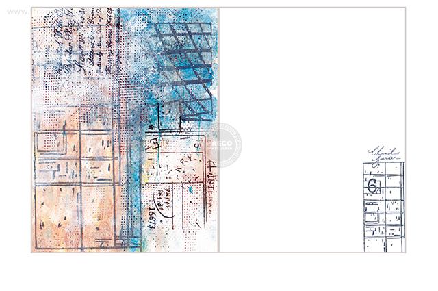 夏米花園ポストカード entrance(XM-PC-025)【ネコポスOK】