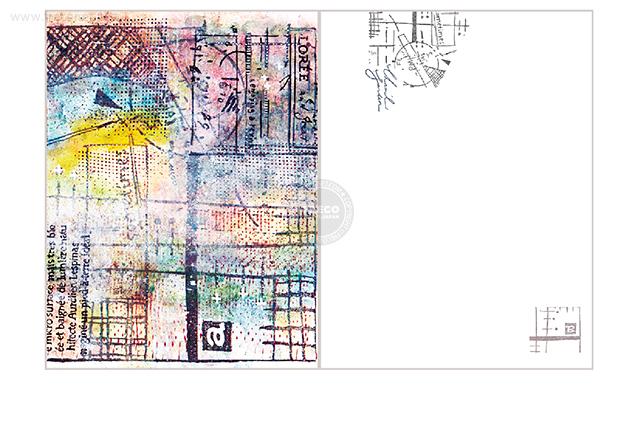 夏米花園ポストカード crossroad(XM-PC-027)【ネコポスOK】