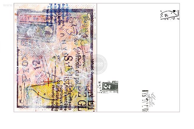 夏米花園ポストカード schedule(XM-PC-028)【ネコポスOK】