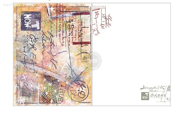夏米花園ポストカード envelope(XM-PC-029)【ネコポスOK】