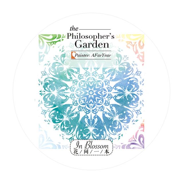 《ご予約商品・12月入荷予定》花間一本マスキングテープ Philosopher's Garden【宅急便配送】