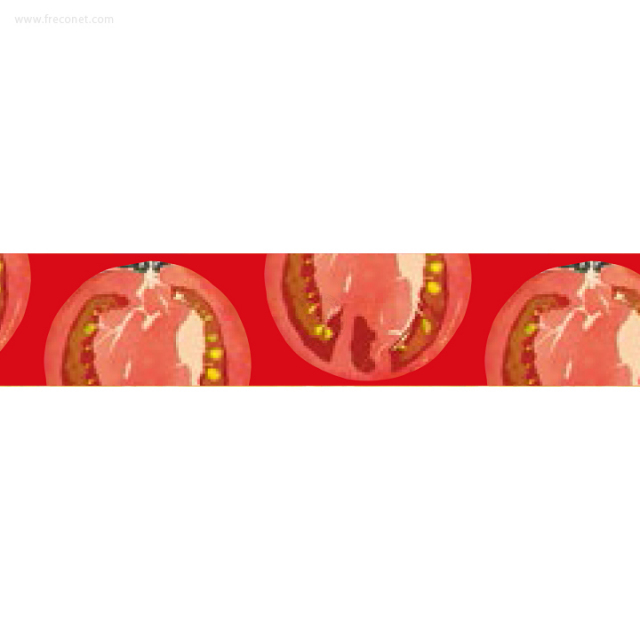 ペパラブルマスキングテープ ベジタブル トマト(YKP90-3516)【ネコポスOK】