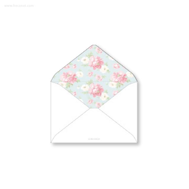 ローラ・アシュレイ 洋2封筒 ブラムウェル(ヨ-LA71)【ネコポスOK】
