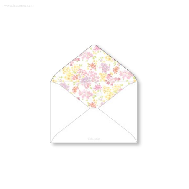 ローラ・アシュレイ 洋2封筒 アメリ(ヨ-LA81)【ネコポスOK】