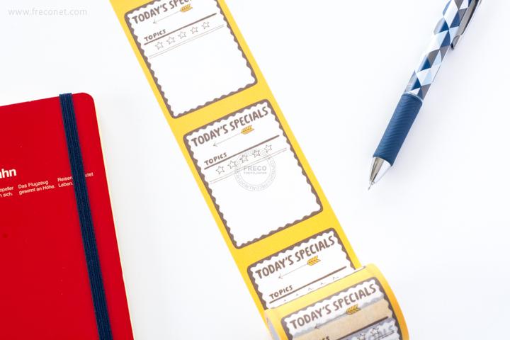 maste ライフログ用マスキングテープ TODAYS SPECIALS(MST-FA02-A)【宅急便配送】