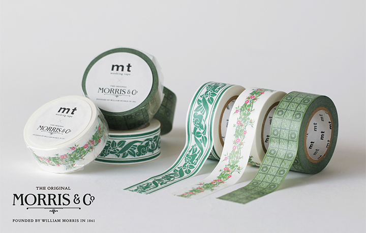 mt 2018SS/mt artist series ウィリアム・モリス(全3柄)【ネコポスOK】
