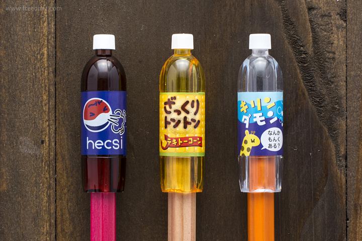 ペットボトル型鉛筆キャップ レッド(72042601)【ネコポスOK】