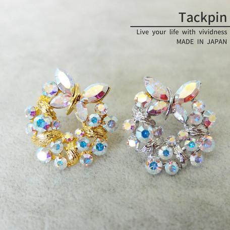 タックピン 蝶【ネコポスOK】