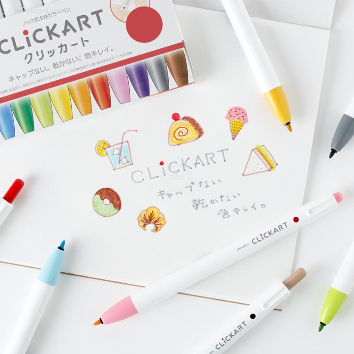 ゼブラ クリッカート単色【ネコポスOK】