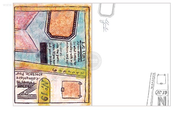 夏米花園ポストカード key point(XM-PC-022)【ネコポスOK】