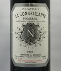 ラ・コンセイヤント1989年 750ml