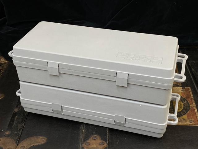[特価]ダブルブロックボックス:グレー