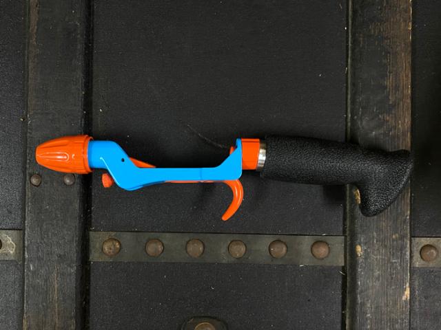 カラーカメレオングリップ:ブルー