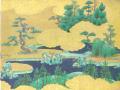 LES JARDINS D'OR PRINCE GENJI paintures japonaises du XVII siecle 17世紀の源氏絵