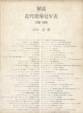 解説 近代建築史年表 1750−1959