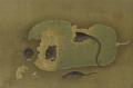 銭舜挙 瓜に鼠図 日本木版画粋