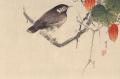 渡辺省亭 花鳥図