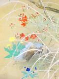 北上聖牛 春花図