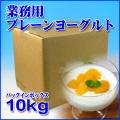 【業務用】フロム蔵王 プレーンヨーグルト(バッグ・イン・ボックス)10kg