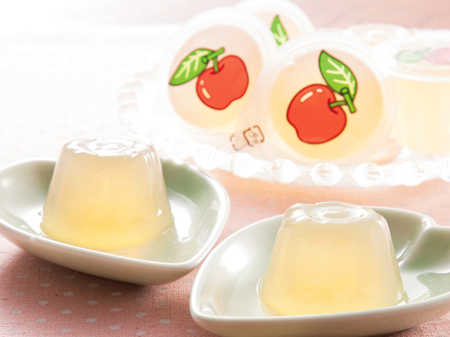 ミニカップゼリーりんご