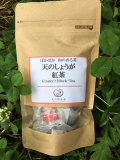 【ティーバッグ】熊本産●無農薬栽培の紅茶と生姜のブレンド茶「天のしょうが紅茶」 (10袋)