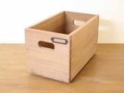 レクタングルボックス / 木箱 収納 ボックス アンティーク 木製 CDボックス スタッキング ガーデニング 積み重ね 北欧 カントリー ナチュラル
