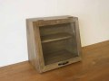 カフェキャビネット ミニ / ミニキャビネット キッチンキャビネット 食器棚 スパイスラック 収納 カントリー アンティーク 北欧 レトロ