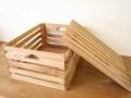 フタ付きボックス / フタ付き ふた付き 収納 木箱 ボックス アンティーク ワイン箱 りんご箱 ベジタブルボックス ガーデニング カントリー 北欧