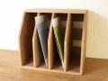 ファイルスタンド / 収納木箱 ファイル収納 ルーター収納 アンティーク ファイルラック マガジンスタンド 書類棚 ボックス
