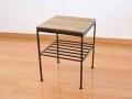 WI サイドテーブル&スツール / 送料無料 木製 アイアン ベッドサイドテーブル スツール 椅子 いす ソファテーブル カントリー 北欧 アンティーク