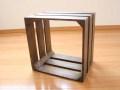 ウッドキューブ / 送料無料 木箱 収納 ボックス マルチラック ディスプレイラック ディスプレイシェルフカントリー 北欧 アンティーク