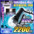 懐中電灯 LED懐中電灯 LEDライト 2200lm相当 ハンディライト FL-055 THE WORLDライト 世界の軍事用ライト fl-s026 【電池・充電器セット】