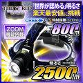 LED ヘッドライト LEDライト MAX2500LM(ルーメン)1灯LED 照射距離800メートル HL-010 CREE社 THE WORLDヘッドライト fl-sh005 【本体のみ】