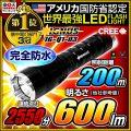 懐中電灯 LED懐中電灯 LEDライト 600lm相当 ハンディライト IG-Q1-03 IGNUS イグナス 最強無比 fl-250lm-001 【電池・充電器セット】