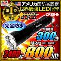 懐中電灯 LED懐中電灯 LEDライト 800lm相当 ハンディライト IG-Q1-04 IGNUS イグナス 最強無比 fl-370lm-001 【電池・充電器セット】