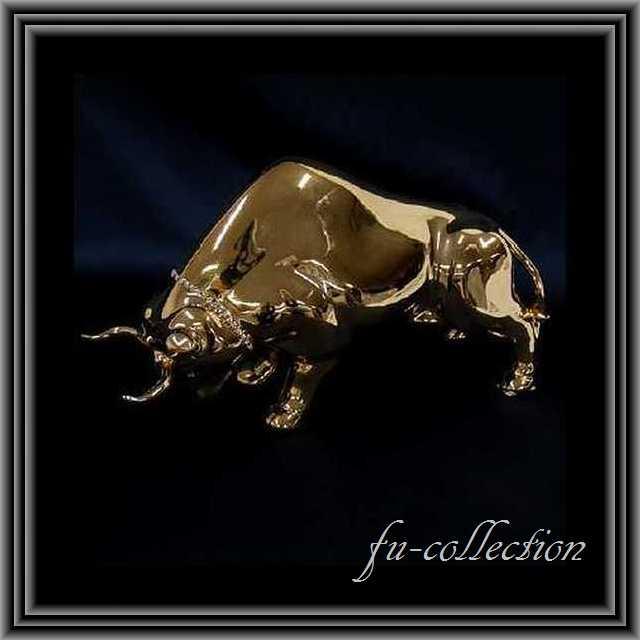 イタリア製 高級セラミック バイソン ゴールド 送料無料