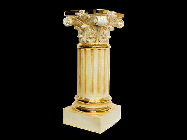 イタリア アウラ社 陶器コラム