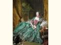 ヨーロッパ名画 ポンパドゥール侯爵夫人の肖像画  118L 78×98  ロココ額絵  送料無料